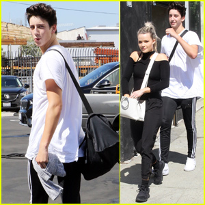 Milo Manheim & Witney Carson Have an Exhausting 'DWTS' Practice!