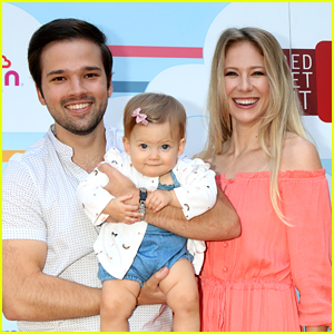 Nathan Kress Brings Baby Daughter Rosie To Her First Event with Wife London