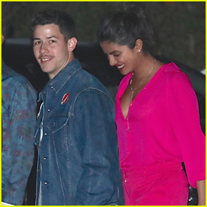 Nick Jonas & Priyanka Chopra Step Out for Sushi Dinner!