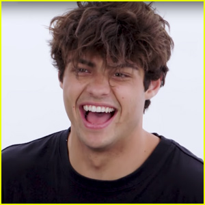 Noah Centineo Tries Straightening His Hair For the First Time!