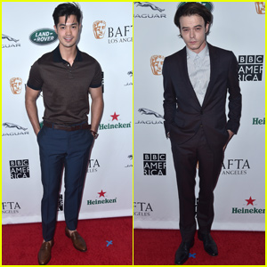 Ross Butler & Charlie Heaton Get Ready for the Emmys With Some Afternoon Tea!