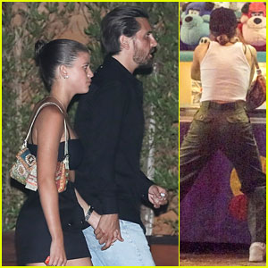 Sofia Richie Shares Awkward Hug with Dad Lionel