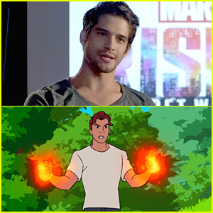 Tyler Posey Talks All About His 'Marvel Rising' Character Inferno In New Featurette - Watch Here!