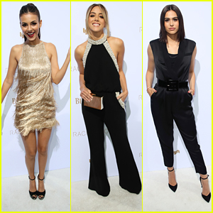 Victoria Justice & Chloe Bennet Step Out For Rachel Zoe's Fashion Presentation in LA