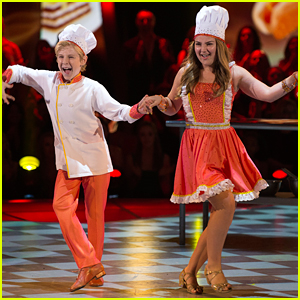 DWTS Juniors: Chef Addison Osta Smith & Lev Khmelev Bake Up The Perfect Cha-Cha - Watch Now!
