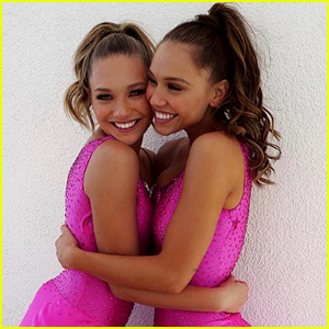 Alexis Ren & Maddie Ziegler Are An Incredible Team on 'DWTS' Trio Night - Watch Now!