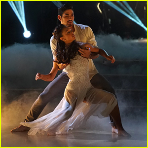 Alexis Ren Honors Her Mom With Contemporary Performance on 'DWTS' Week #3