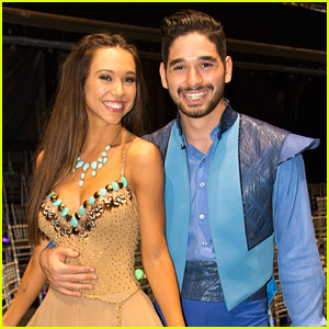 Alexis Ren Might've Caught Feelings For Her DWTS Partner Alan Bersten