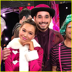 Alexis Ren & Alan Bersten Give Us A Sugar Rush on 'DWTS' Halloween Night - Watch!