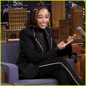 Amandla Stenberg Reveals What Jennifer Lawrence Taught Her on 'Hunger Games' Set!