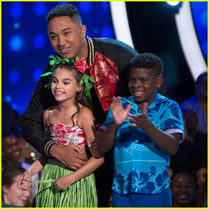 Ariana Greenblatt's Family Did Something Really Cute For Her Disney Night Performance on 'DWTS Juniors' (Exclusive)