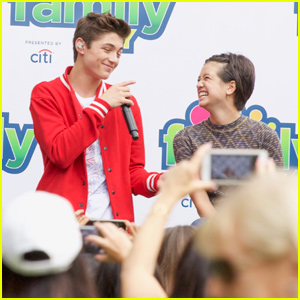 Asher Angel Surprises Peyton Elizabeth Lee With a Serenade!