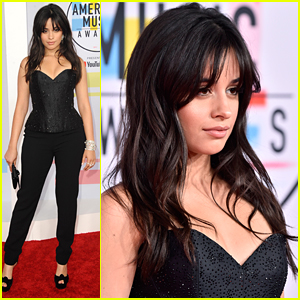 Camila Cabello Hits Red Carpet at AMAs 2018 Ahead of 'Consequences' Performance
