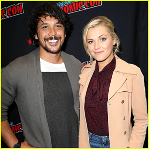 Eliza Taylor & Bob Morley Talk 'The 100' Season 6