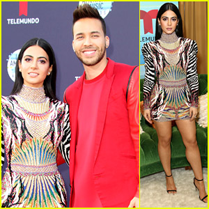 Emeraude Toubia & Prince Royce Couple Up For Latin American Music Awards 2018