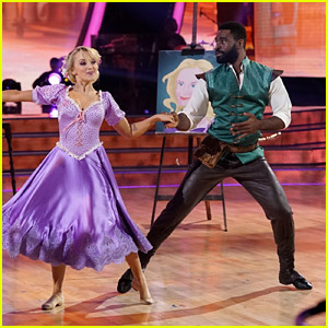 Evanna Lynch Gives Us Life With 'Tangled' Jazz Performance on 'DWTS' Disney Night - Watch Now!