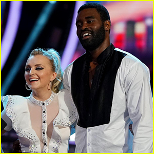 Evanna Lynch & Keo Motsepe Wow With Sizzling Samba on 'Dancing With The Stars' Week #2