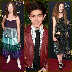 'Fast Layne' & 'Good Trouble' Stars Hit 'Nutcracker' Premiere in LA