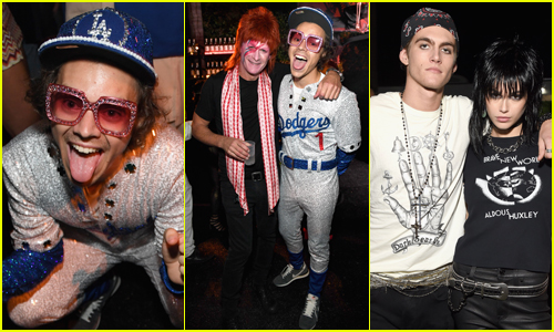 Harry Styles Pays Homage to This Famous Singer at Halloween Party!
