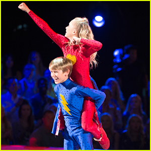 DWTS Juniors: Soap Star Hudson West & Kameron Couch Turn Into Paso Doble Superheroes - Watch Now!