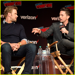 Kellan Lutz, Jackson Rathbone & Edi Gathegi Celebrate 10 Years of 'Twilight' at NYCC