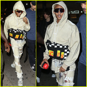 Jaden Smith Shows His Style While Out in London