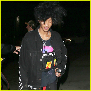 Jaden Smith Celebrates Halloween With 'Galore Magazine'