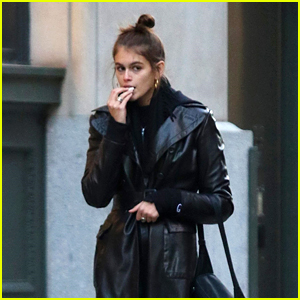 Kaia Gerber Heads Out for a Shopping Spree in NYC