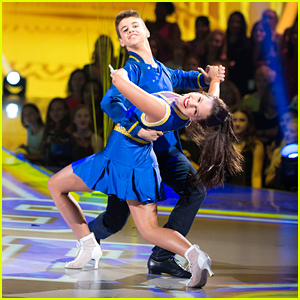 DWTS Juniors: Kenzie Ziegler & Sage Rosen Show School Spirit With A Quickstep - Watch Now!