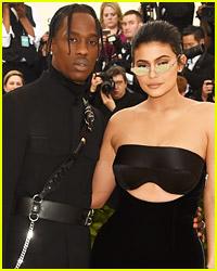 Kylie Jenner & Travis Scott Took Daughter Stormi To a Pumpkin Patch