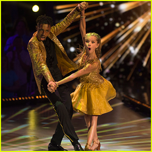 DWTS Juniors: Mandla Morris & Brightyn Brems Have Super Fast Feet With a Jive - Watch Now!