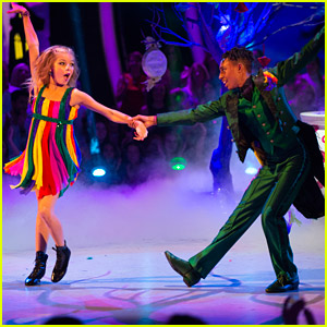 Mandla Morris & Brightyn Brems Put A Spell on Us For 'DWTS Juniors' Halloween Night - Watch Now!