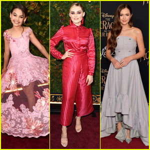 Ariana Greenblatt & Meg Donnelly Go Glam For 'Nutcracker & Four Realms' Premiere in LA