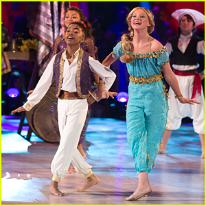 DWTS Juniors: Miles Brown & Rylee Arnold Get Into Some Trouble on Disney Night as Aladdin & Jasmine - Watch Now!