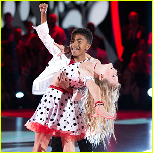 DWTS Juniors: Miles Brown & Rylee Arnold Were All Smiles During Their Salsa - Watch Now!