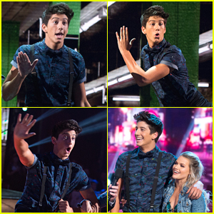 Milo Manheim Had So Many Expressions on 'DWTS' During His Performance - See Them Here!