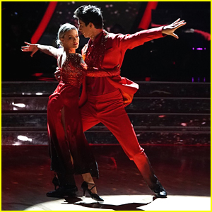 Milo Manheim Delivers Fiery Tango With Witney Carson on 'Dancing With The Stars' Week #2