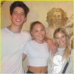 Witney Carson Tried to Set Up Milo Manheim & Maddie Ziegler!