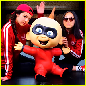 Olivia Rodrigo & Madison Hu Rap About 'Incredibles 2' Jack Jack In New Music Video - Watch Now!