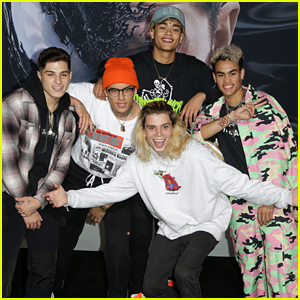 PRETTYMUCH Hit Up The 'Venom' Premiere in Los Angeles After New Song Debuts