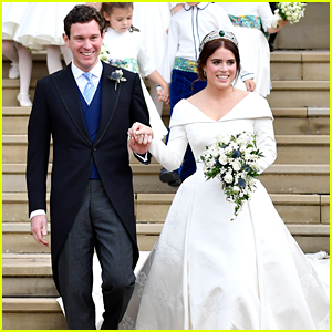 Princess Eugenie Marries Jack Brooksbank In Fairytale Wedding in Windsor, England