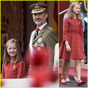 Princess Leonor Hit a Major Milestone at Spain's Military Parade