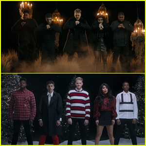 Pentatonix Drop Spooky & Sweet 'Making Christmas' Music Video - Watch Now!