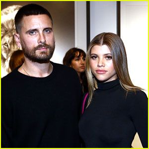 Sofia Richie & Boyfriend Scott Disick Take Their Romance to an Art Gallery