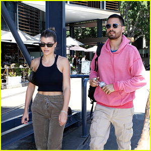 Sofia Richie & BF Scott Disick Hang Out on a Yacht in Australia!