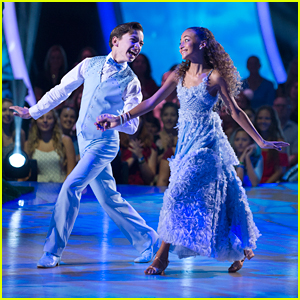 DWTS Juniors: Model Sophia Pippen & Jake Monreal's Foxtrot Was So Lovely - Watch Now!