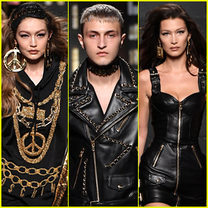 The Hadid Siblings Strut the Moschino X H&M Runway!