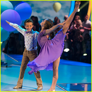 DWTS Juniors: Tripp Palin & Hailey Bills Perform a Foxtrot - Watch Now!
