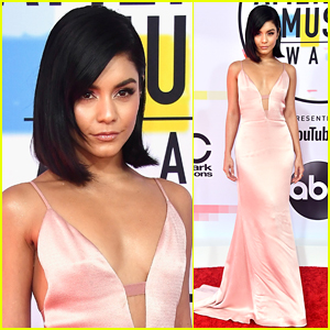Vanessa Hudgens Stuns on the Red Carpet at American Music Awards 2018!