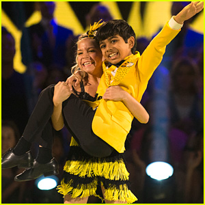 Spelling Bee Champ Akash Vukoti Spells a 45-Letter Word For Juniors' Choice Night on 'DWTS Juniors' - Watch Now!
